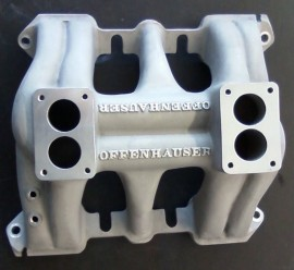 Offenhauser #1080 - 1949-1962 Cadillac 2x2 Dual Intake Manifold