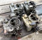 SPEEDWAY MOTORS CHEVY TRI-POWER 3X2 KIT - CARBURETORS