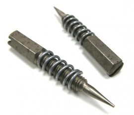Rochester Carburetor Idle Mixture Screws with Springs - Small Base 2G & Chevrolet 4G models